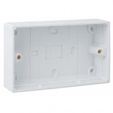 2 Gang Surface Moulded Box