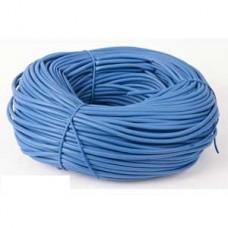 PVC Sleeving Blue 3mm 100m Length
