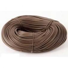 PVC Sleeving Brown 4mm 100m Length
