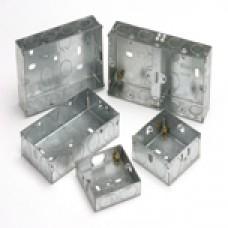 Metal Back Boxes