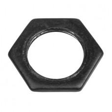 20mm Lock Nuts Black Enamel