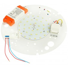 16W LED GEAR TRAY WITH MICROWAVE SENSOR