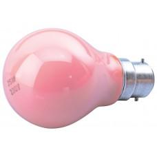 Standard GLS Lamp - BC-Pink