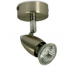 GU10 Mains Voltage Single Spotlight