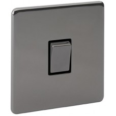 Screwless Magnetic Black Nickel 20A Switch