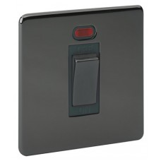 Screwless Magnetic Black Nickel Cooker Control Unit