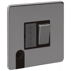 Screwless Magnetic Black Nickel Fused Connection Unit