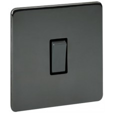 Screwless Magnetic Black Nickel Intermediate Switch