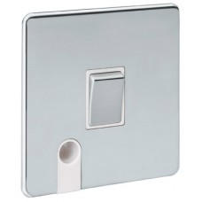 Screwless Magnetic Polished Chrome 20A DP Switch