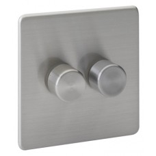 Screwless Magnetic Stainless Steel Dimmer Switch