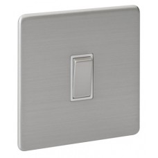 Screwless Magnetic Stainless Steel Plate Switch