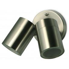 Stainless Steel Adjustable Twin Spotlight