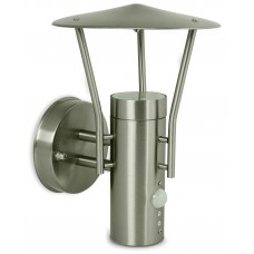 Stainless Steel Wall Lantern With PIR