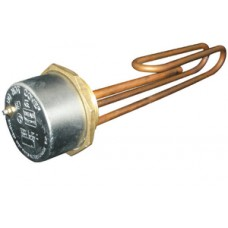 Copper Anode Immersion Heater 11 Inch c/w 7 Inch Stat