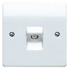 Logic Plus TV/FM and Satellite Co-axial Socket Outlet