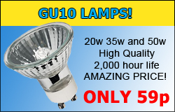 GU10 Lamps at Great Prices