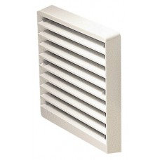 White Fixed Grill 100mm