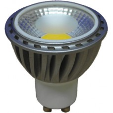 LED COB GU10 Lamp. 400-450 Lumens. Cool White.