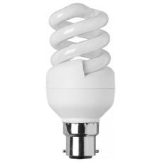 Energy Saving Comp. fluro.-mini spiral - 9W BC