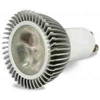 LED GU10 Lamp Dimmable. 450-500 Lumens. Warm White.
