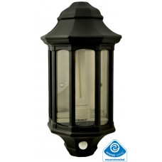 Dedicated Low Energy Wall Lantern with PIR