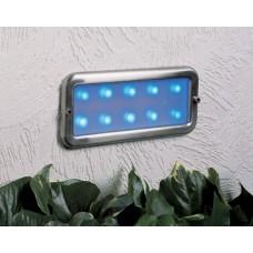 Stainless Steel Blue LED Bricklight