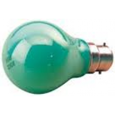 Standard GLS Lamp - BC-Green