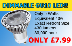 Dimmable LED GU10 Lamps